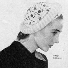 Roll Brim Crochet Hat Pattern