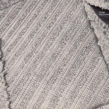 Bathroom Rug Crochet Pattern with Loop Stitch Border