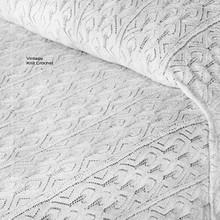 Knitting Pattern, Bedspread in Strips