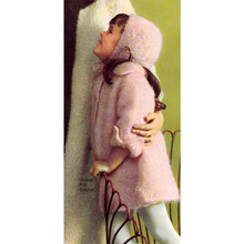 Toddler Knitted Mohair Coat Pattern