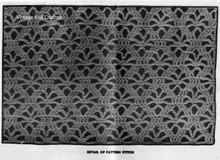 Spider Web Crochet Pattern Stitch Illustration