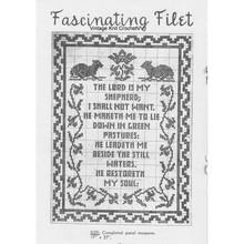 Free Filet Crochet Pattern Lord is my Shepherd