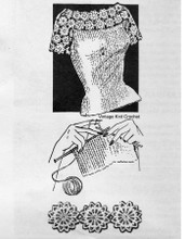 Mail Order Blouse Knitting Pattern, Alice Brooks 7395