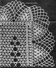 Pineapple Scarf Pattern Stitch Illustration, Alice Brooks 7313