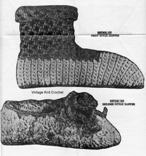 Crochet Boots Pattern Illustration, Laura Wheeler 702