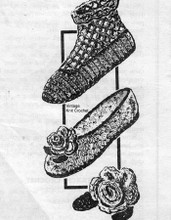Crochet Slippers Pattern, Rose Flower, Laura wheeler 702