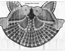 Bluebird Crochet Pattern Stitch Illustration, Mail Order 886