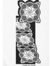 Crochet Pinwheel Scarf Pattern, Laura Wheeler 974