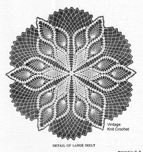 Crocheted Pineapple Centerpiece Doily Pattern, Laura wheeler 598