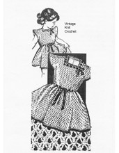 Mail Order Girls Party Dress Pattern, Alice Brooks 7238