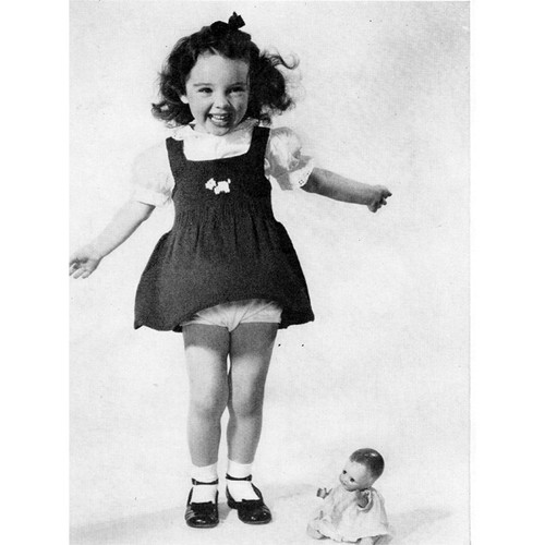 Toddler Knitted Jumper Dress Pattern