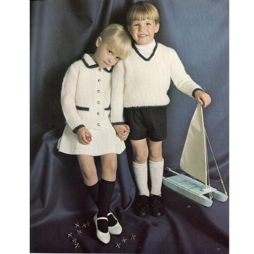 Knitting Pattern Toddler Jacket Vest