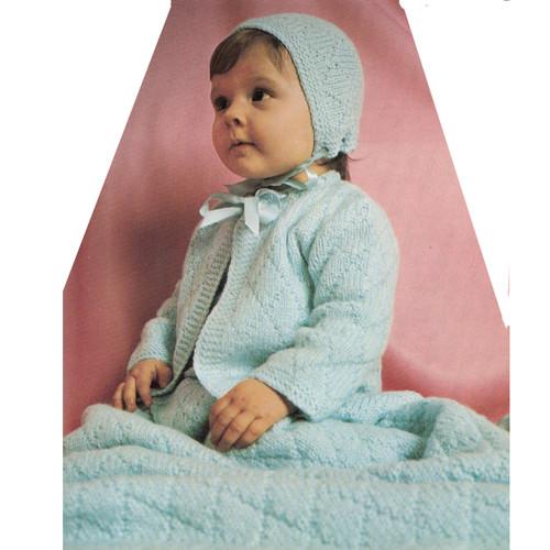 Vintage Baby  Layette Pattern wit