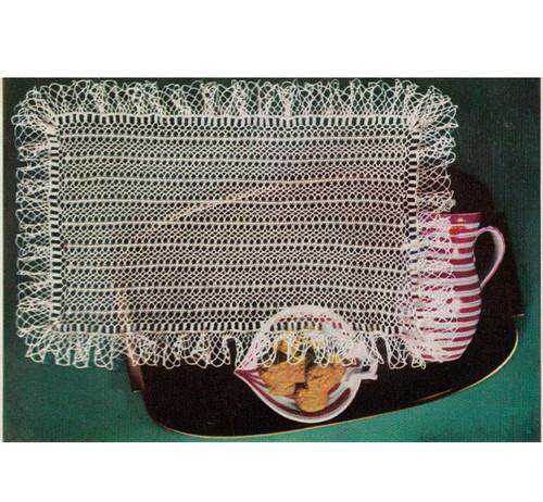Hairpin Lace Runner Pattern