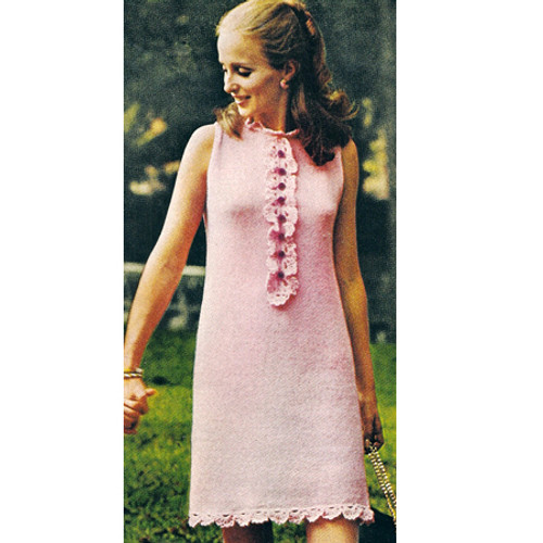 Misses Knitted Summer Dress pattern