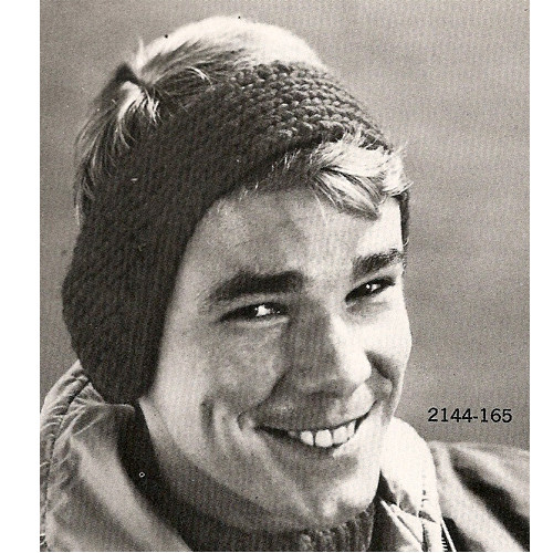 Mans Knitted Headband Pattern