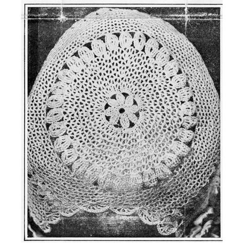 Loop Stitch Crochet Baby Bonnet Pattern