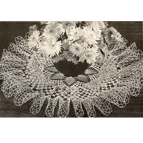 Cascade Crocheted Doily Pattern