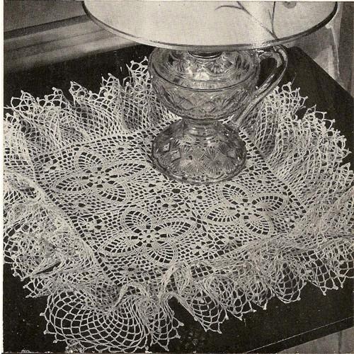 Whirlwind Ruffled Doily Crochet Pattern