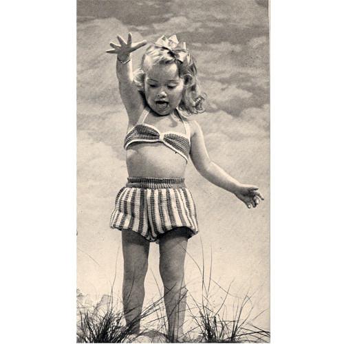 Crochet Toddler Sun suit pattern