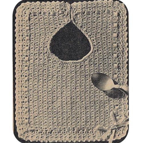 Workbasket Crochet Bib Pattern