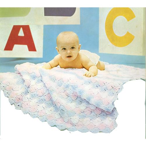 Shell Baby Crochet Blanket Pattern