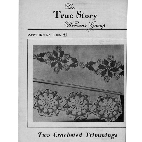 Vintage Crochet Edgings Pattern from True Story