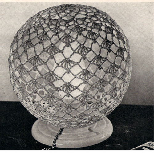 Crochet Globe Cover Pattern
