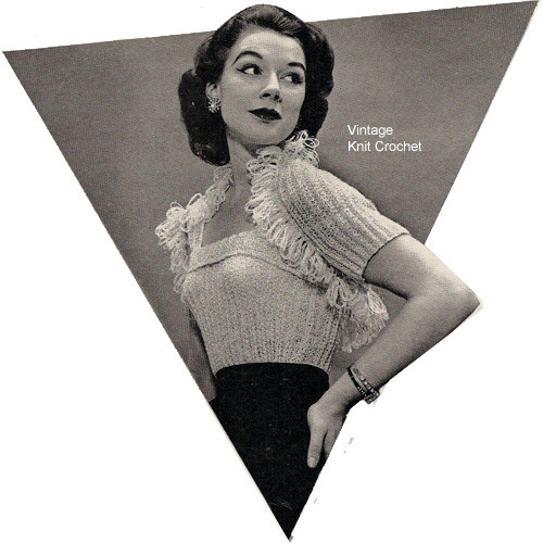 Knitted Camisole pattern