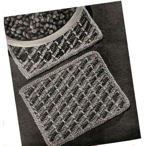 Free Crochet Hot Mats Pattern
