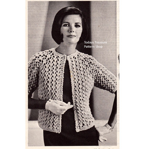 Easy Knitted Cardigan Pattern in Textured  Stitch