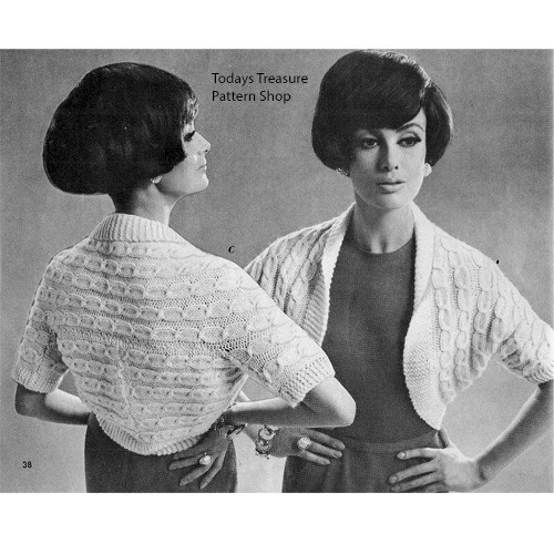Easy Knit Shrug Pattern