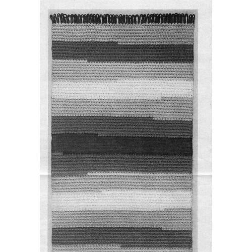 Easy Striped Rug, Free Crochet pattern