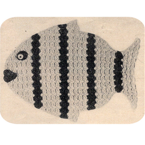 Crochet Fish Place Mats Pattern
