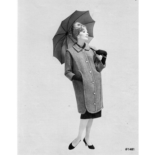 Vintage 1940s Coat Knitting Pattern