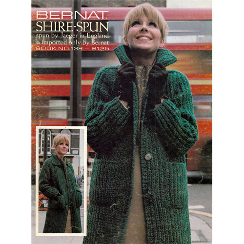 Long Bulky Knitted Coat Pattern