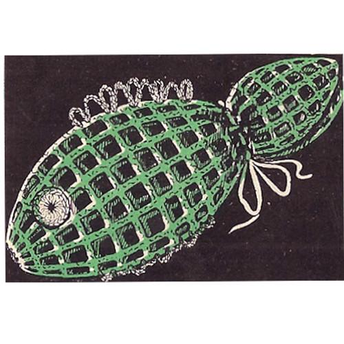 Crochet Soap Holder Pattern, Fish Motif from Workbasket