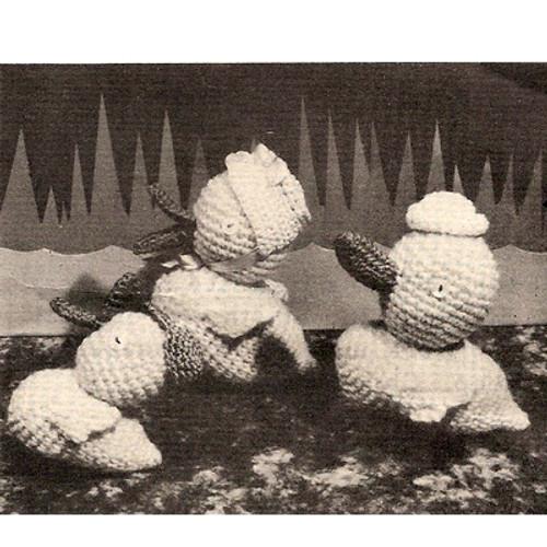 Crochet Family of Ducks Pattern