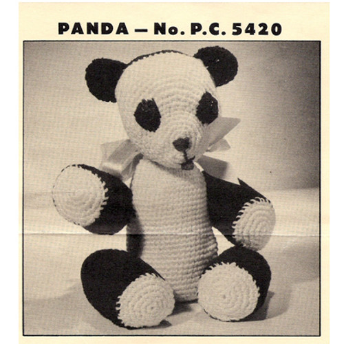 Crochet Panda Bear Pattern