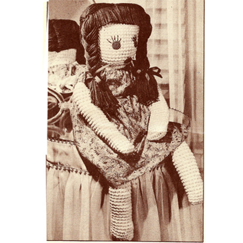 Large Raggedy Anne Crochet Doll Pattern