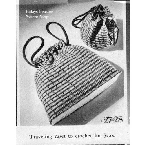 Vintage Utility Bag Crochet Patter