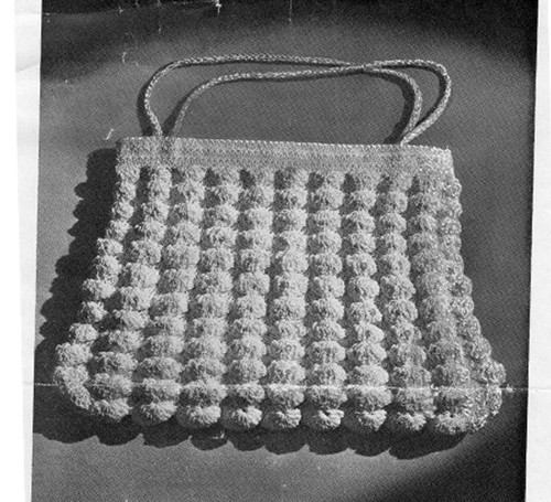 Free Crochet Handbag Pattern in Shell Stitch