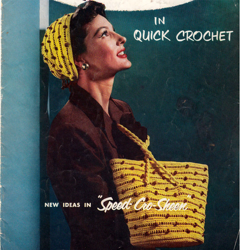 Crocheted Hat and Tote Bag Pattern