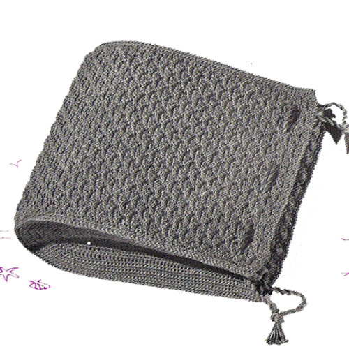 Vintage Crochet Satchel Bag