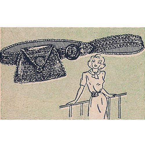 Crochet Fanny Pack Pattern from Workbasket