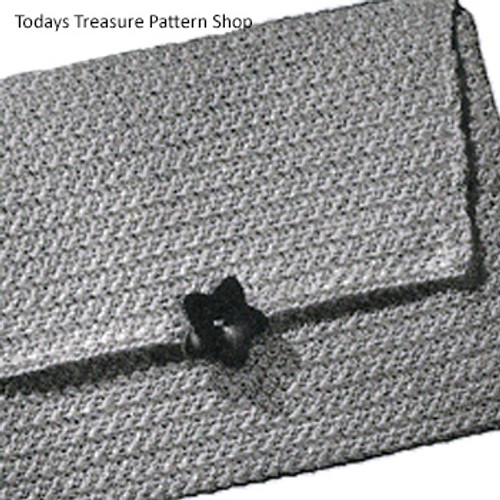 Crochet Clutch Bag with Closure Pattern