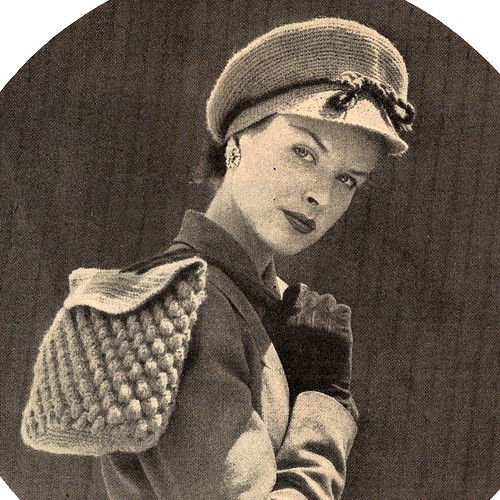 Vintage Crochet Newsboy Hat Pattern