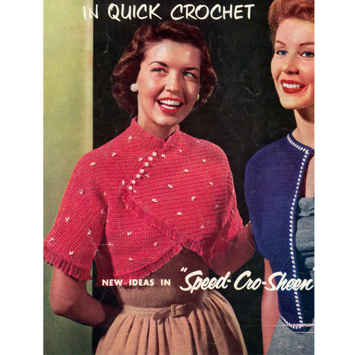Vintage Crochet Beaded Bolero Pattern