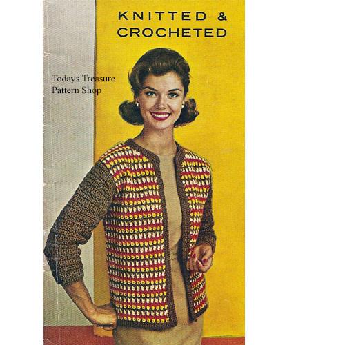 Casual Striped Cardigan Crochet Pattern