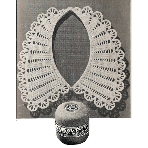Elegant Crochet Collar Pattern